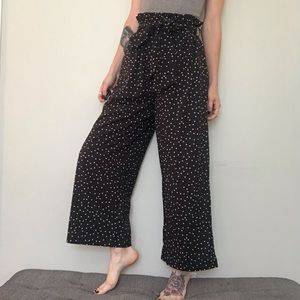 ☆ NWT Japanese Brand Wide Leg Satin Pants ☆